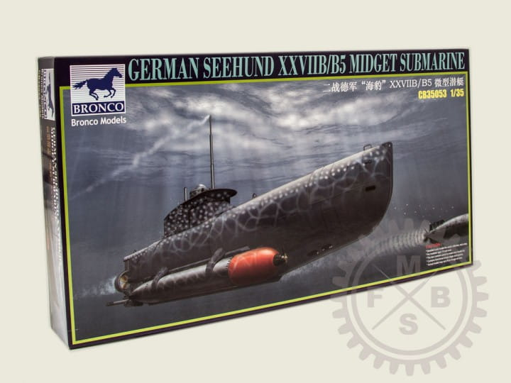 Bronco Models German ~Seehund~ XXVII B/b5 (2in1) / 1:35