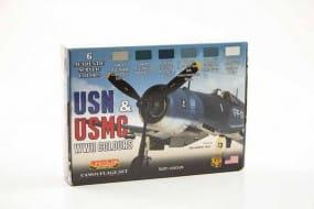 USN & USMC WWII - Color Set / 6x22ml