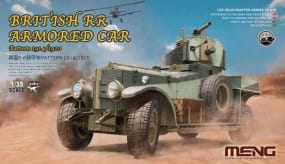 British Rolls-Royce Armoured Car - Pattern 1914/1920 / 1:35