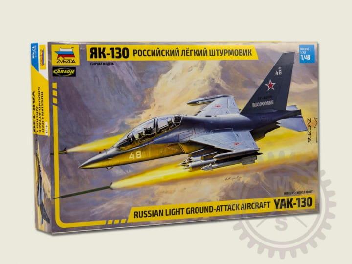 Zvezda YAK-130 Russian trainer / fighter / 1:48