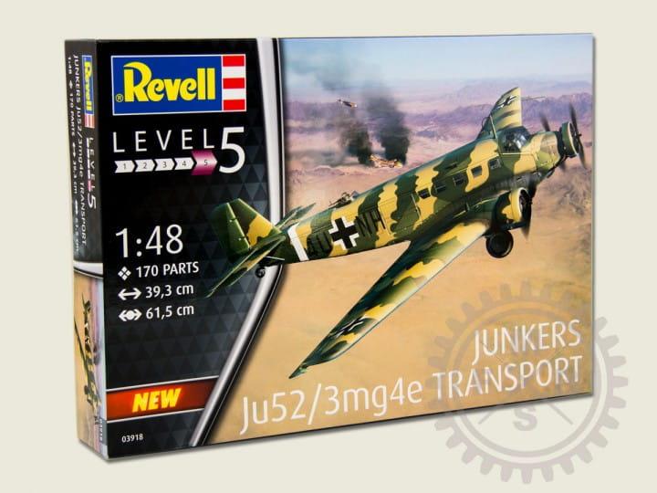 Revell Junkers Ju 52/3m Transport / 1:48