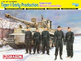 Tiger I Early Prod. (M. Wittmann) / 1:35