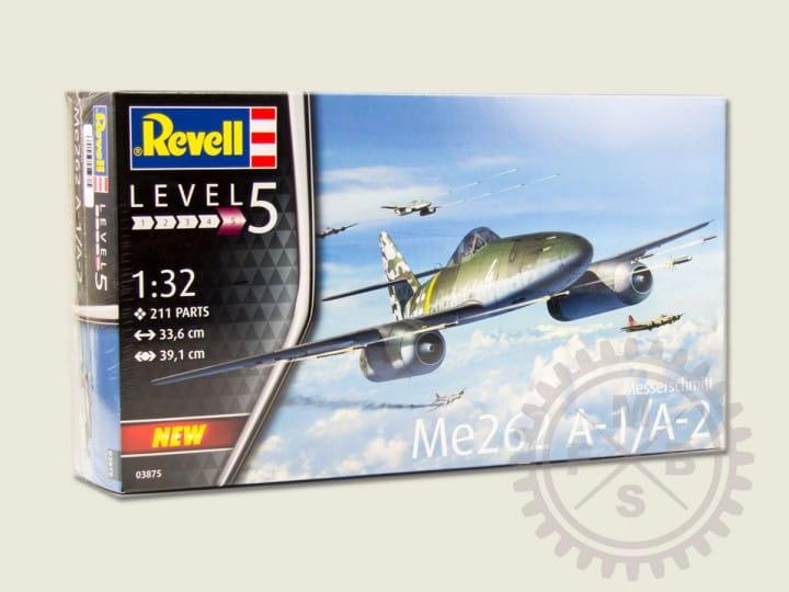 Revell Messerschmitt Me262 A-1/A-2 / 1:32