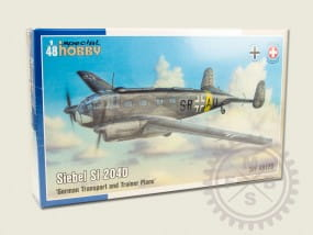 Siebel Si 204D - German Transport and Trainer Plane / 1:48