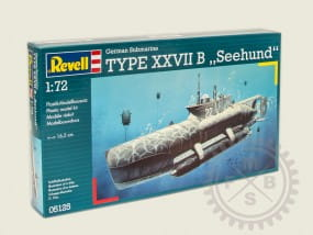 "German Submarine Type XXVIIB ""Seehund"" / 1:72"