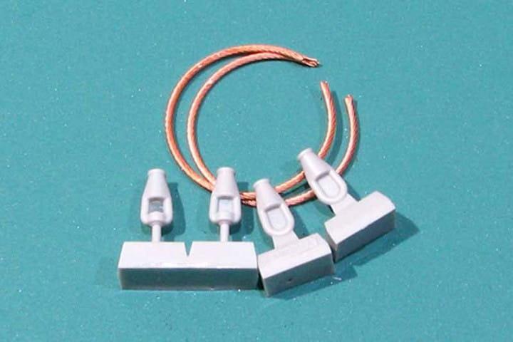 Eureka Cables for Soviet KMT-5M/-7/-9 Mine Rollers / 1:35