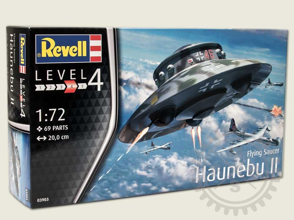 Flying Saucer Haunebu Ii 172 Revell 03903