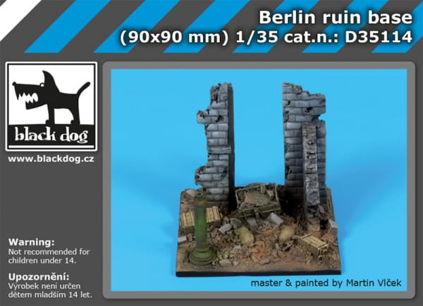 Berlin ruin base / 1:35
