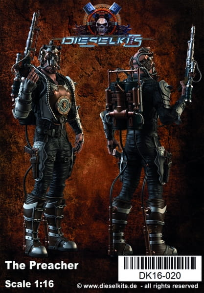 The Preacher -Steampunk Character- / 1:16