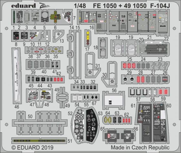 F-104J - Kinetic - 1/48