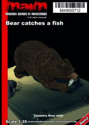Bear catches a fish / 1:35