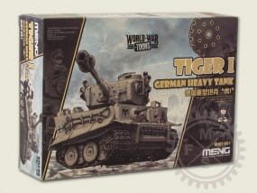 World War Toons: German Heavy Tank Tiger I