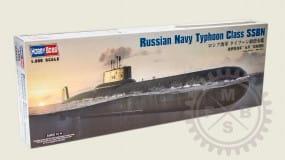 Russian Navy Typhoon Class SSBN / 1:350