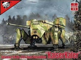 Fist of War: German WWII sdkfz 553/A medium fighting Mech