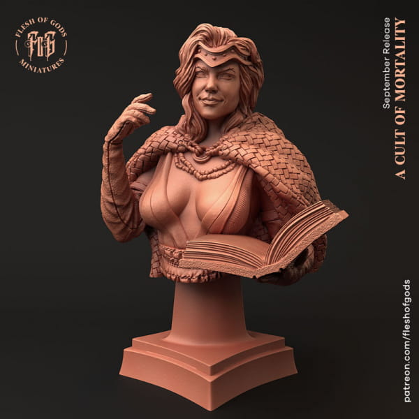 Cult Leader - Female Wizard -Bust-