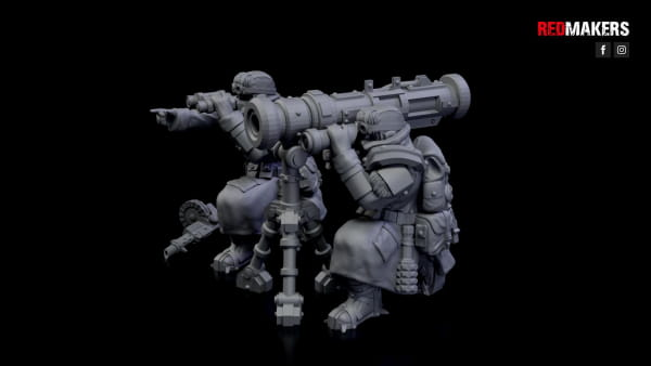Missile Launcher - Ice Warriors - Heavy Support Squad of the Imperial Forces