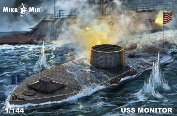 USS Monitor / 1:144