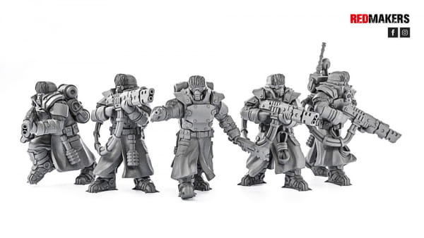 Ice Warriors - Elite squad of the Imperial Force