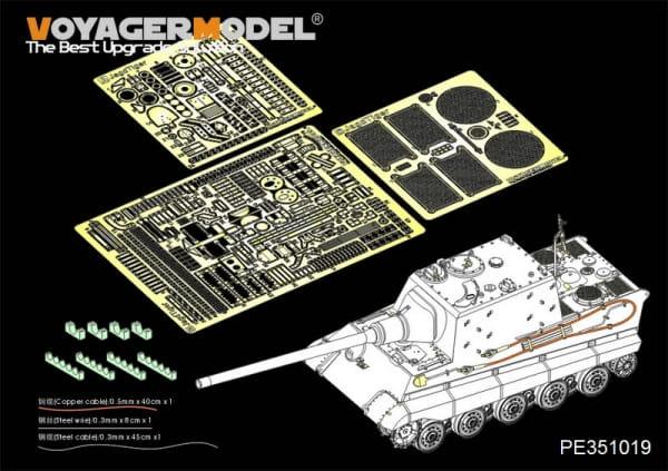 WWII German Jagdtiger Henschel Basic(For TAKOM 8001) / 1:35