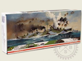 HMS NAIAD 1940 -Full Hull- / 1:700