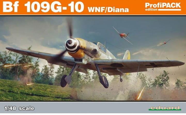 Eduard Models Bf 109G-10 WNF/Diana - Profipack - / 1:48
