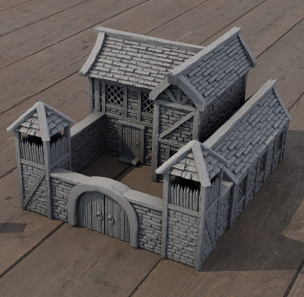Medieval Barracks