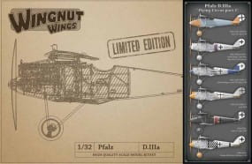 Pfalz D.IIIa - Flying Circus part 1 - LIMITED EDITION / 1:32