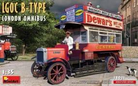 LGOC B-Type London Omnibus / 1:35