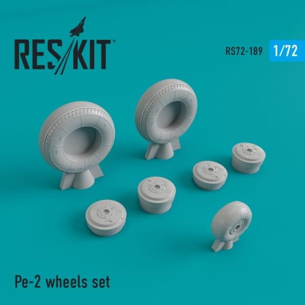 Pe-2 wheels set / 1:72
