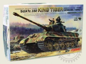 Sd.Kfz.182 King Tiger (Henschel Turret) / 1:35