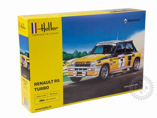 Renault R5 Turbo / 1:24
