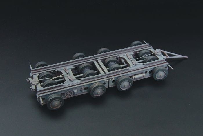 Culemeyer four axles / 1:144