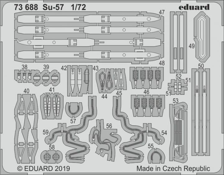 Su-57 - Zvezda - / 1:72