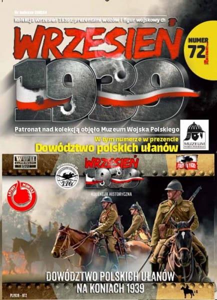 Wrzesien 1939: Polish Uhlans command on horseback / 1:72