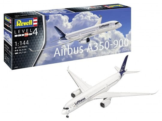 Airbus A350-900 Lufthansa New Livery / 1:144