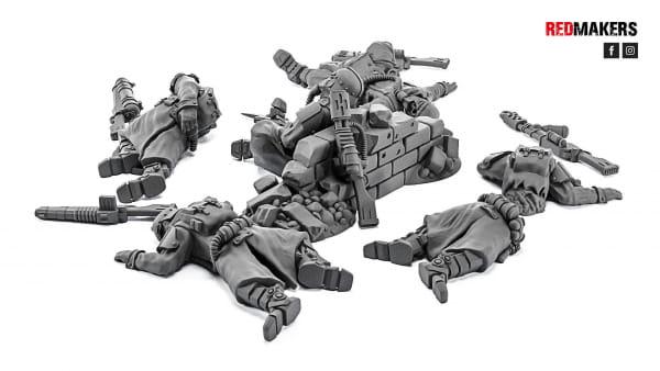 Death Squad; Slain Soldiers