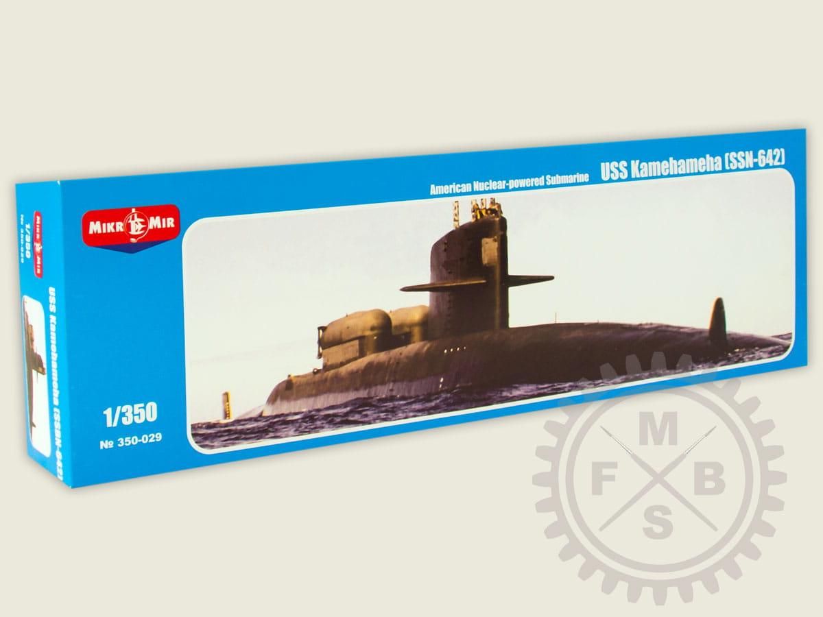 USS KAMEHAMEHA 1//350 MIKRO-MIR 350-029 SSN-642