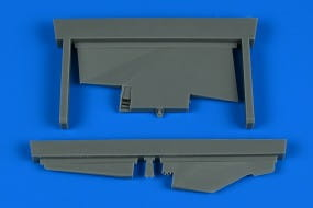 MiG-23ML correct tail fin - Trumpeter - / 1:48