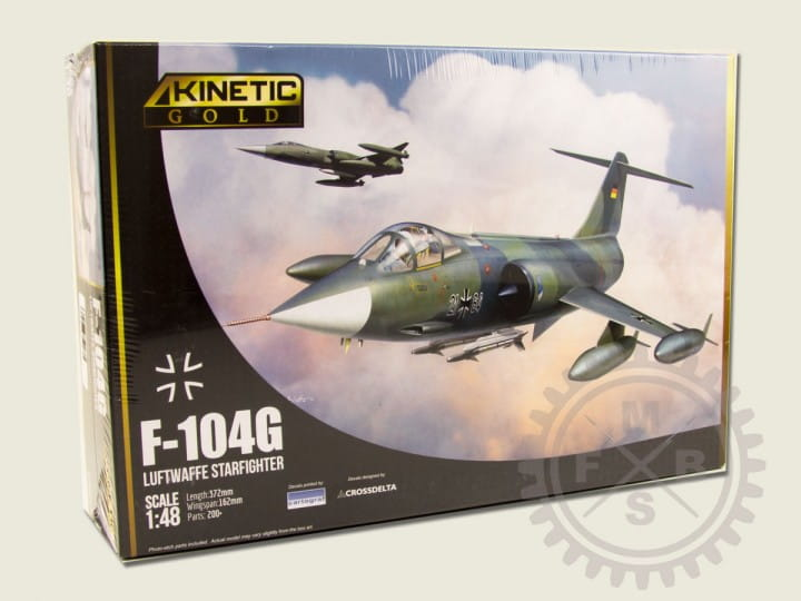 Kinetic F-104G Germany Air Force and Marine / 1:48