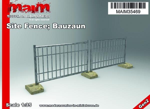 MAiM / Front46 Site Fence; Bauzaun / 1:35