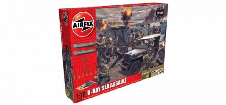 75th Anniversary D-Day Sea Assault Set / 1:72