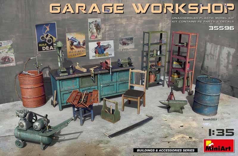 Garage Workshop 1 35 Miniart 35596