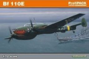 Eduard Kits / Bausaetze Bf 110 E -Profipack- / 1:72