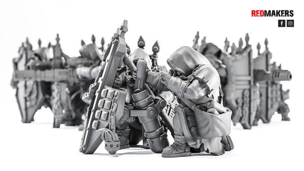 Mortar - Janissaries - Heavy Support Squad of the Imperial Force