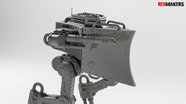 Imperial military force Heavy mech