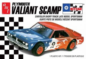 Plymouth Valiant Scamp Kit car / 1:25