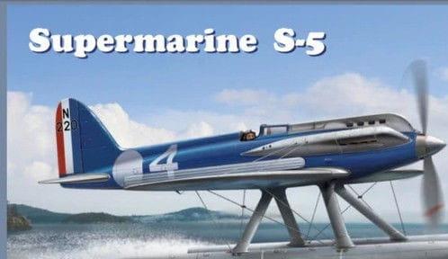 Supermarine S-5 Schneider Trophy Series / 1:72