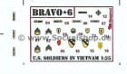 Vietnam Uniform Badges (Bravo 6) / 1:35