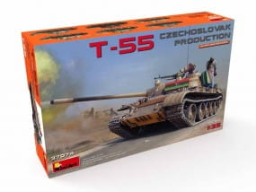 T-55 Czechoslovak Prod. / 1:35