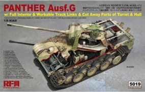 Panther Ausf. G; cut away - Full Interior / 1:35
